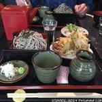 菓々茶寮 - 料理写真:かき揚げそば(800円税別)