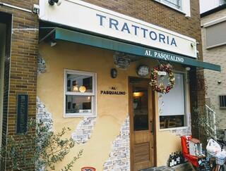 トラットリア パスクアリーノ - ジジイひとりでも入れます!