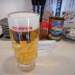横田酒場 - とりあえずの生中ジョッキ480円