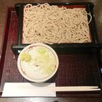 蕎麦かっぽう あずみ野 - もりそば ¥686+税