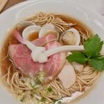 Mugitooribu - トリプルSOBA 1,000円 内税             蛤、鶏、煮干しのトリプルダシ