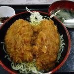 12213066 - Bランチ(たれかつ丼)500円