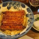 味治 - うな丼(お吸い物・お新香付)