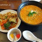 碧亭 - 碧亭(愛知県みよし市)担々麺,油淋鶏,食彩品館.jp撮影