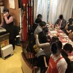 広東飯店 美香園 - 一階の様子です