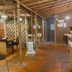 イツワ製麺所食堂 - 店内