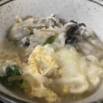 豊福 - 牡蠣は、普通サイズですが、6個入っていました♪(2019.12.21)