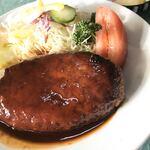 ホクシンケン食堂 - 料理写真:歯がいらないハンバーグ