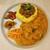 スパイスパレット - 料理写真:キーマ&チキンカレー 1000円