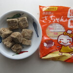 くば屋ぁ - 料理写真:小浜島産さっちゃん黒糖 170円 (2019.12)