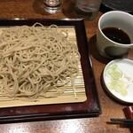 日本酒と蕎麦 中野いざ宵 - せいろそば(〆)650円