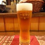 酒肴柚 - ドリンク写真:2019年12月 生ビール