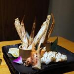 蟹しぐれ - 蟹の創作焼き