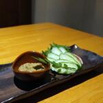 蟹しぐれ - 蟹味噌きゅうり