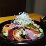 蟹しぐれ - 海鮮創作サラダ