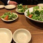 北の味紀行と地酒 北海道 - サラダ