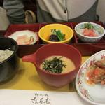 さんるーむ - 季節の魚御膳:鯖の唐揚げ木の芽あん