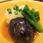 さんるーむ - 自家製揚げ出し豆腐@季節の魚御膳