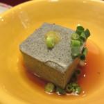 さんるーむ - 自家製黒胡麻豆腐