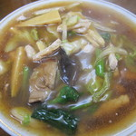 新海亭 - 料理写真:肉そば