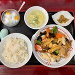 122161785 - 八宝菜定食 ¥800