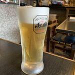 夢乃家 - 生ビール700円