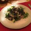 水色食堂 - 料理写真:玄海灘産魚介8種のカルパッチョ アオサと木酢のビネグレット