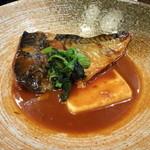 12217277 - 鯖味噌煮定食¥1000