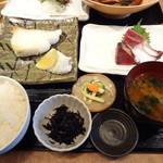12217279 - 銀ムツ塩焼き定食¥1000