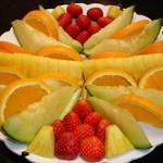 鶴生館 - フルーツの盛り合わせ。ご希望によりご予算でお作りしています。