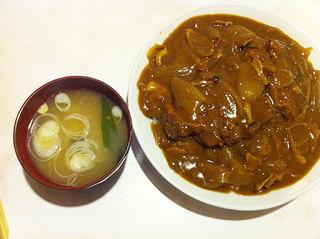 ピッチャーゴロ - カツカレー550円
