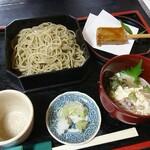 蕎麦彩膳 隆仙坊 - 料理写真:生ゆばせいろ