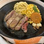 クニズ - 料理写真:期間限定?ヒレステーキ。Lドリンクつけると、しめて1800円!笑笑