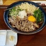 Sanukiudonharushin - 肉ぶっかけ1320円