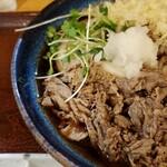 Sanukiudonharushin - 肉ぶっかけレフトサイド~