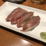 Hiroumi - 《赤牛の炙りにぎり》