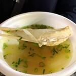 唐戸市場タケショー - ふぐの味噌汁