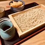 ソバカフェ 孫三 - そば丼ランチ