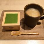 マッチャハウス マッチャカン - 料理写真:抹茶ティラミスセット