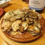 122186392 - 牡蠣と白子のソテー