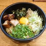 麺屋 もり田 - 料理写真:飛騨味噌まぜそば(900円)