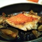 122195277 - メイン キンメダイのオーブン焼き マトロートソース