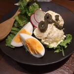 龍馬街道 - ゆずたまとキタアカリのポテトサラダ   590円