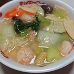 中国料理 堀内 - 料理写真:えびそば 塩(990円)