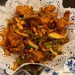 シノワーズ南翔 - 料理写真:鶏唐香り炒め