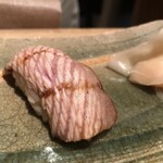 鮨ふく - 寒ぶり 炙り