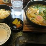 うどん 蔵十 - 鉄鍋定食