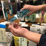 Sakamotoyasakaten - 試飲してみました(≧∇≦*)
