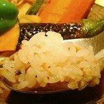 1222631 - 四季愛菜 野菜のスープカレー(950円)