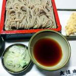 大清水 - 天ざる 1300円